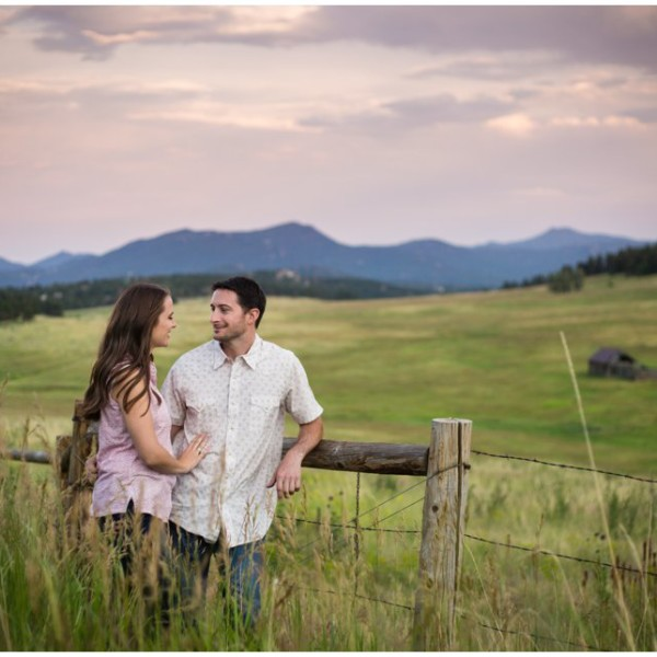 Scott & Meghan Evergreen Engagement Shoot | Elk Meadow Engagement Photography