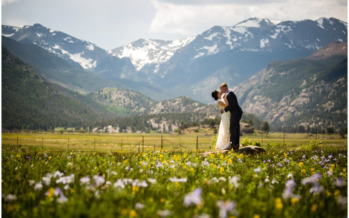 Black Canyon Inn Wedding, Estes Park, Colorado | Kyndall + Ryan