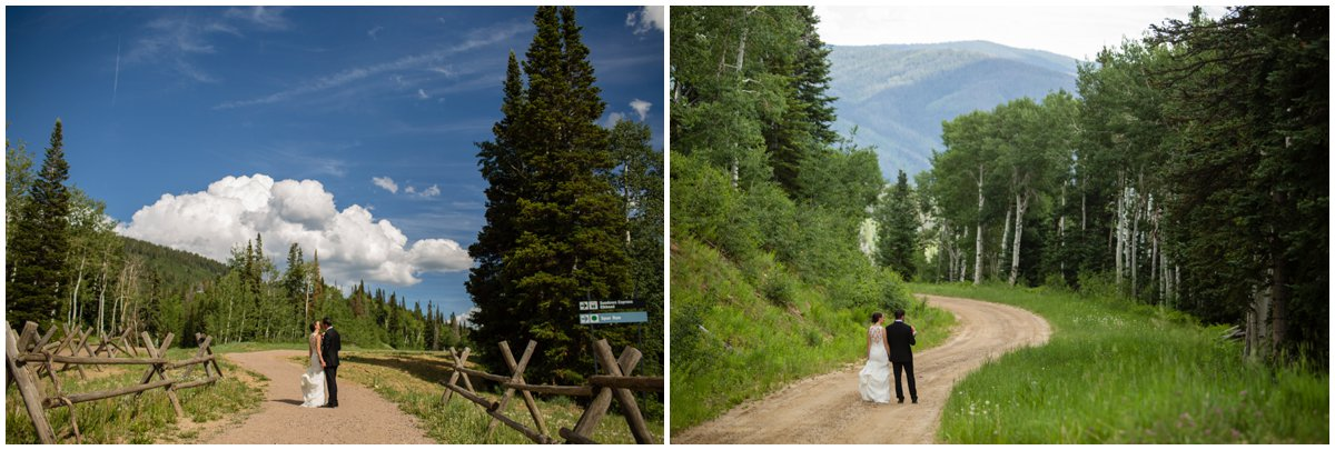 Steamboat Wedding | Thunderhead Lawn Wedding Photos