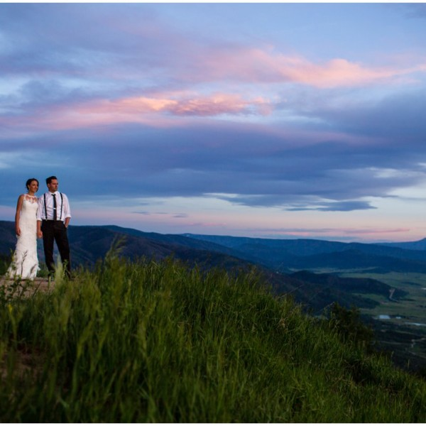 Steamboat Springs Colorado Mountain Wedding | Danielle + Brian