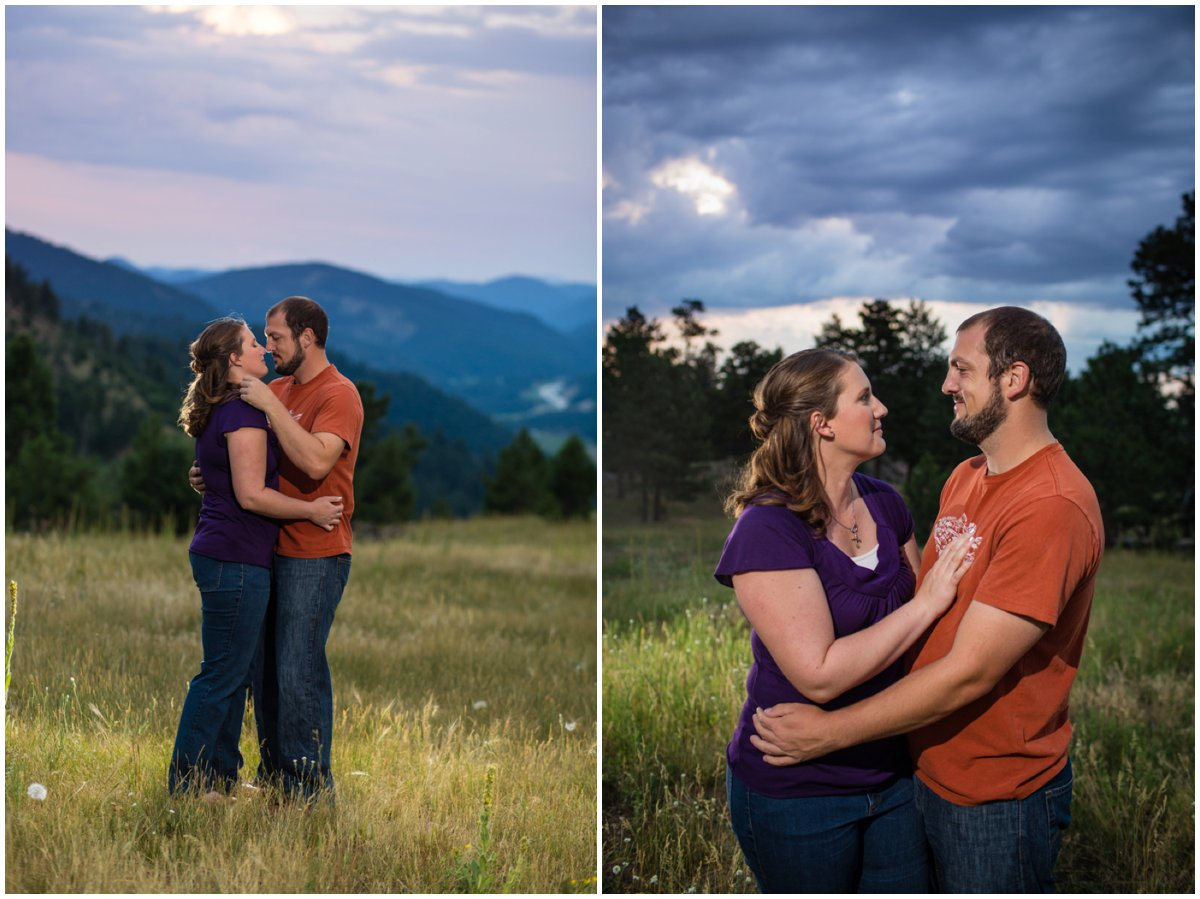 Denver Mountain Engagement Photography
