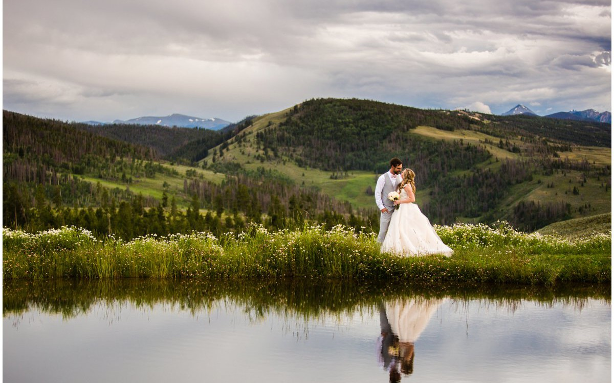 Strawberry Creek Ranch Wedding | GRANBY COLORADO WEDDING | Alex + Megan