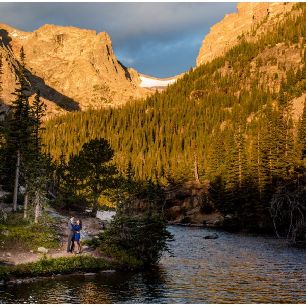 Rocky Mountain National Park Engagement Photos | Salina + Ryan