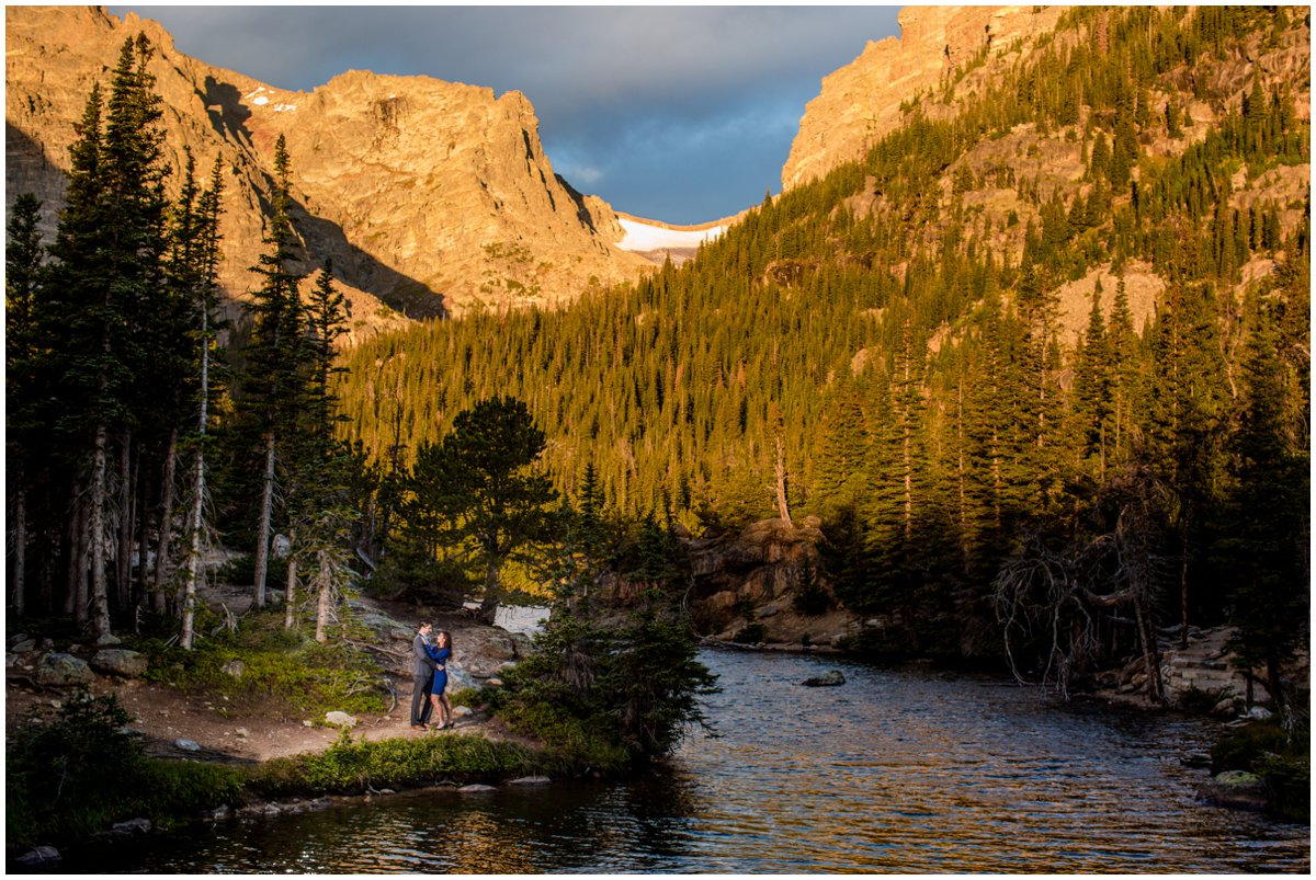 Estes Park Engagement Photos