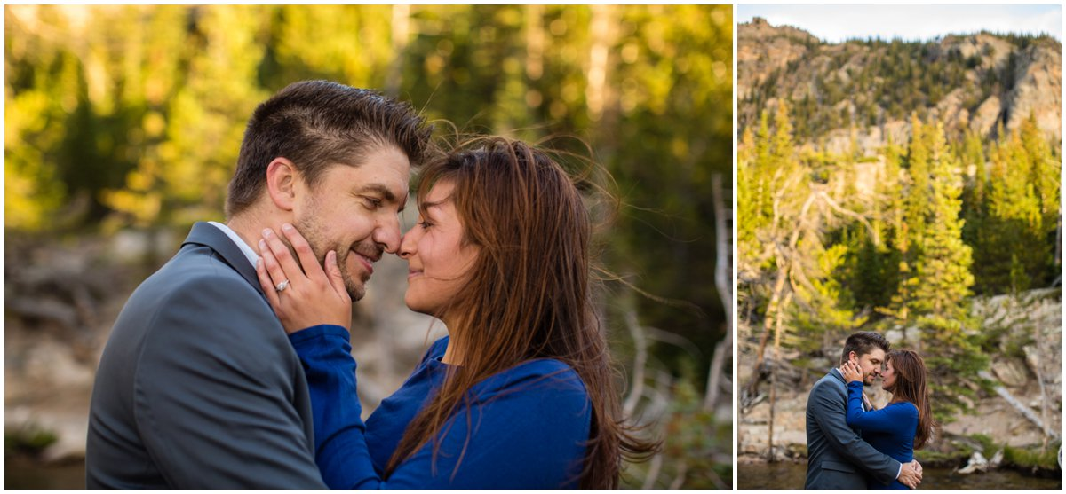 Rocky Mountain National Park Engagement Photography
