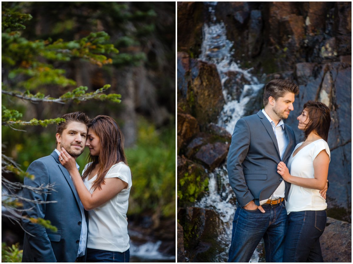 Colorado Rocky Mountain Engagement Photography