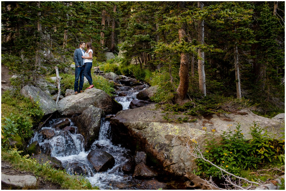 Colorado Rocky Mountain Engagement Photos