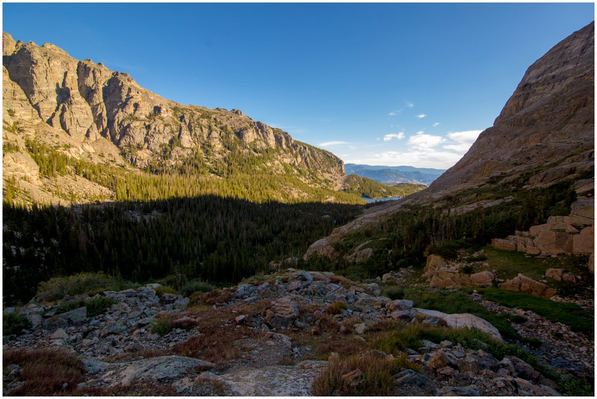 Rocky Mountain National Park Engagement Pictures