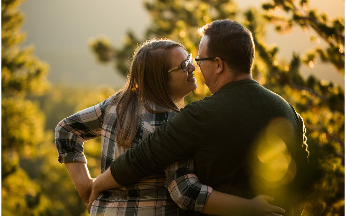 Golden Gate Canyon State Park Engagement | Amanda + Kevin