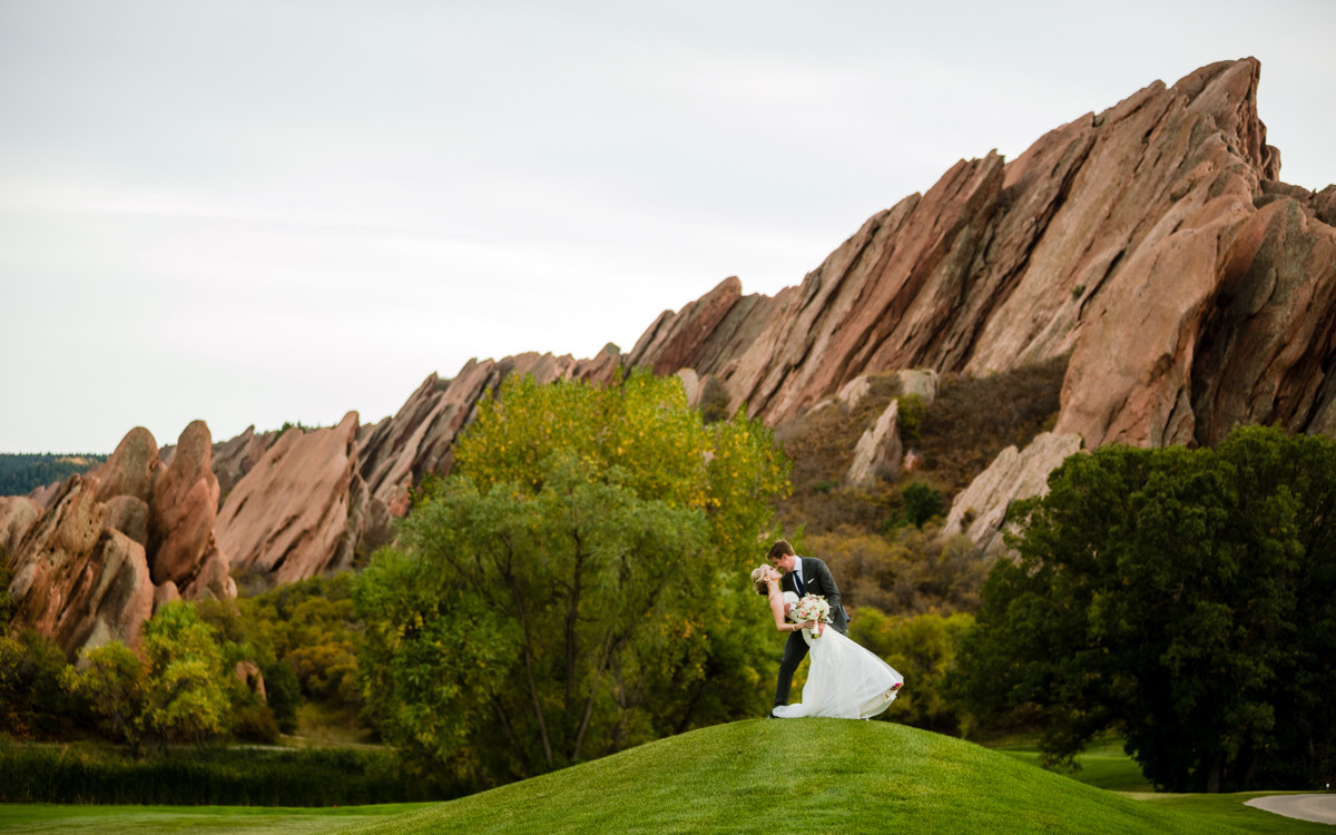 Arrowhead Golf Course Wedding Photos | Krista + Bryan