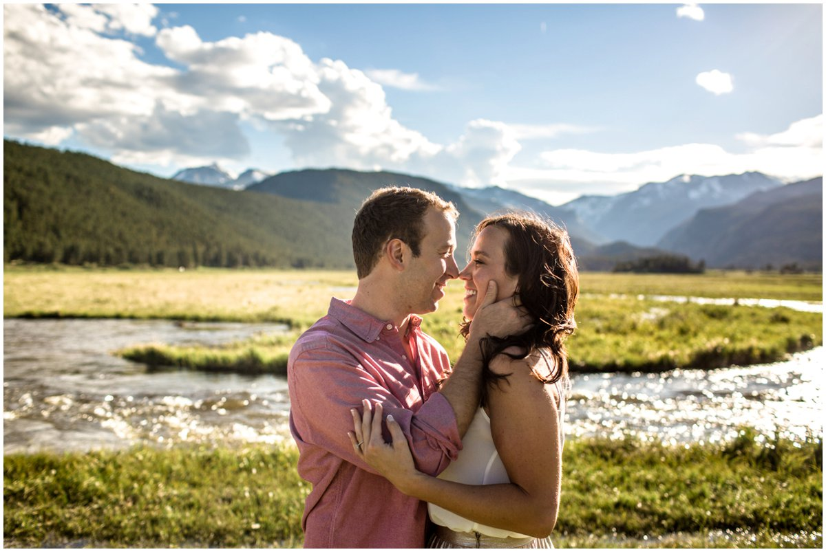 Estes Park Engagement Photography