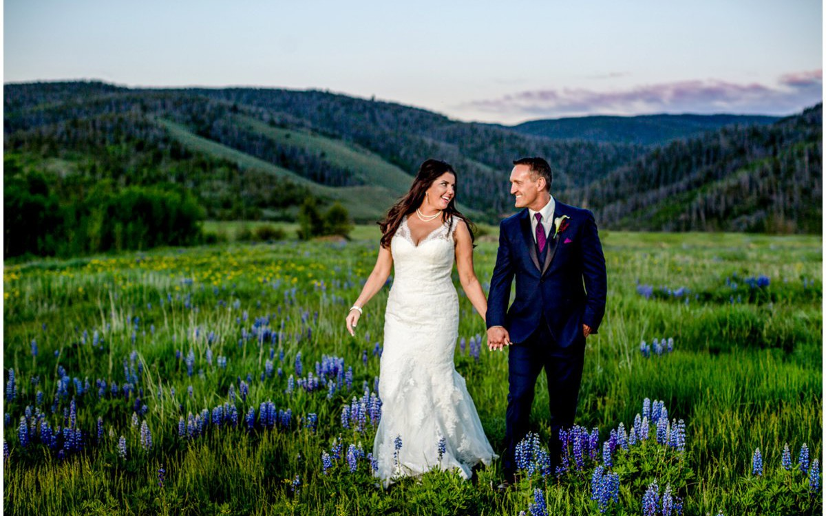 Strawberry Creek Ranch Wedding | Granby Colorado Wedding | Lynn + Doug
