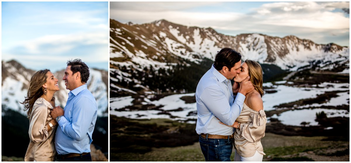 Loveland Pass Engagement Pictures