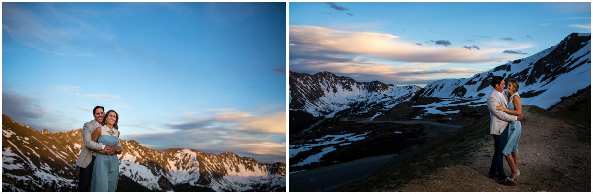 Loveland Pass Engagement Photos