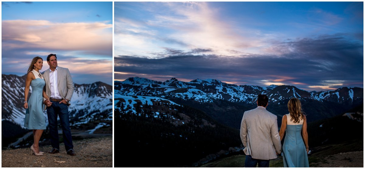 Loveland Pass Engagement Photography