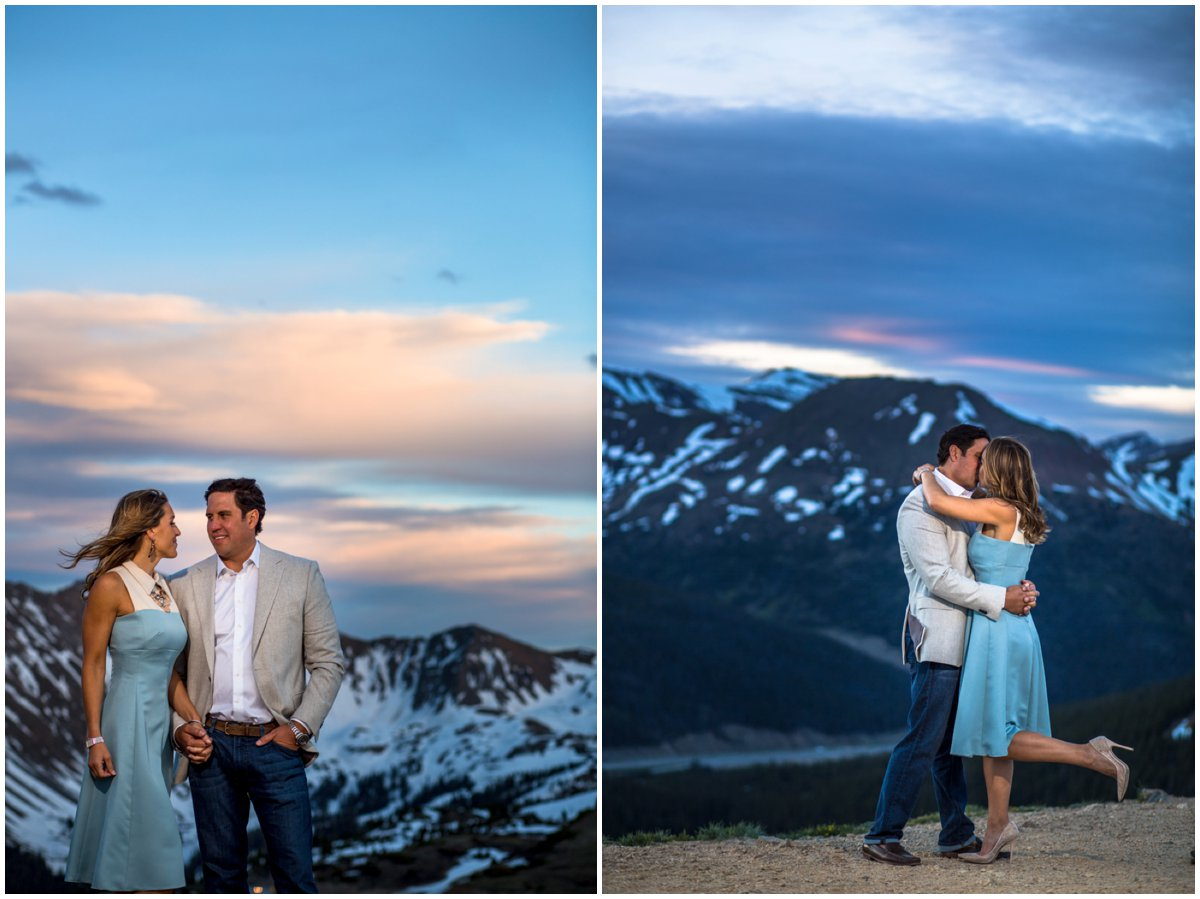 Loveland Pass Engagement Photographer