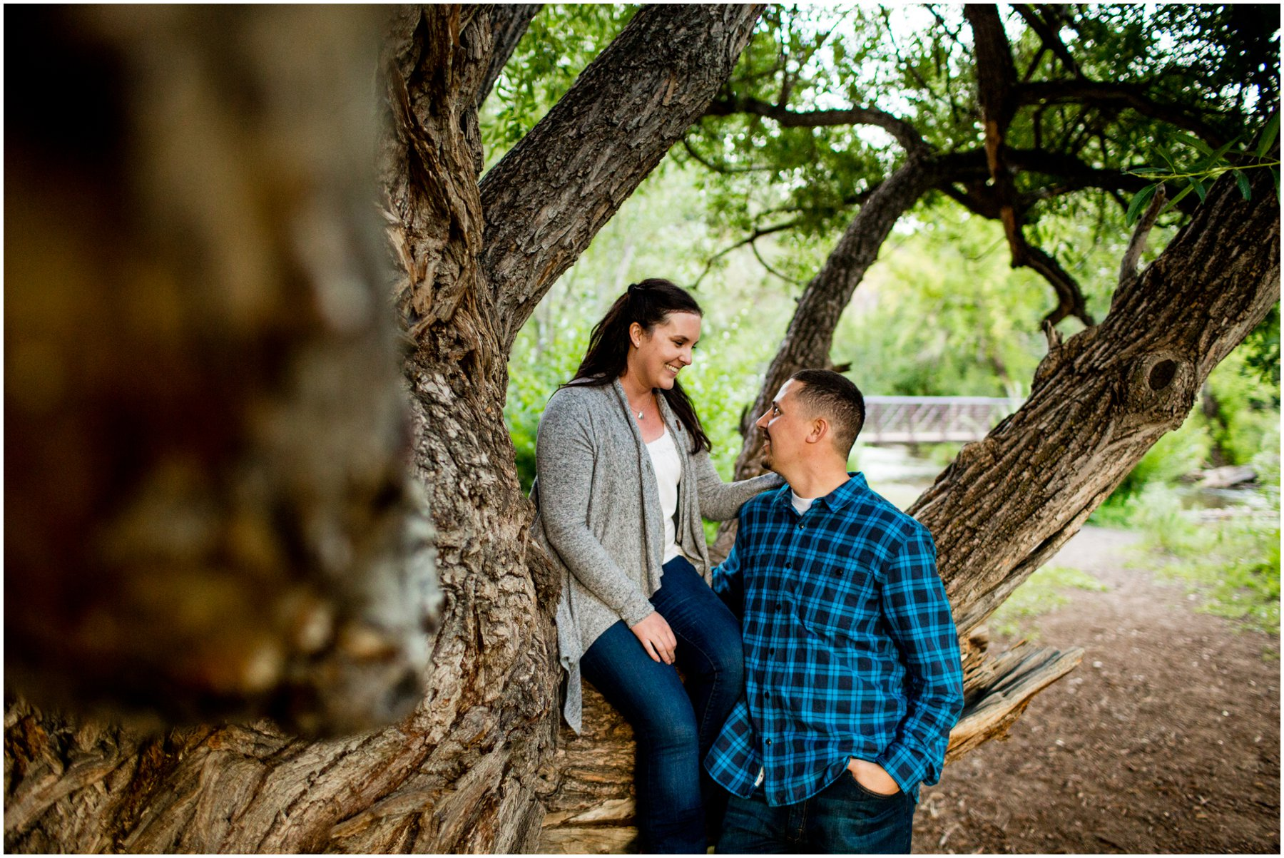 River Engagement photos