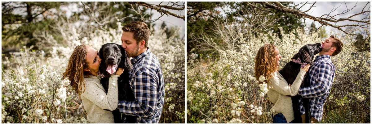 Chautauqua Park Engagement Photography