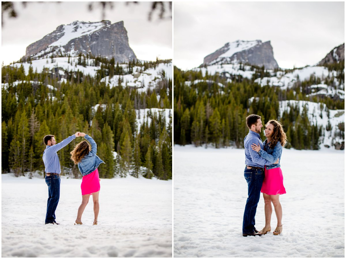 Estes Park Engagement Photographer