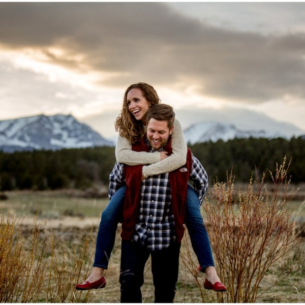 Estes Park Engagement Photos | Hannah + Stuart